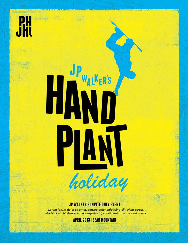Luke-VanVoorhis-Handplant-Holiday-Poster